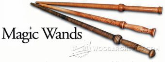 2618-Woodturning Magic Wands