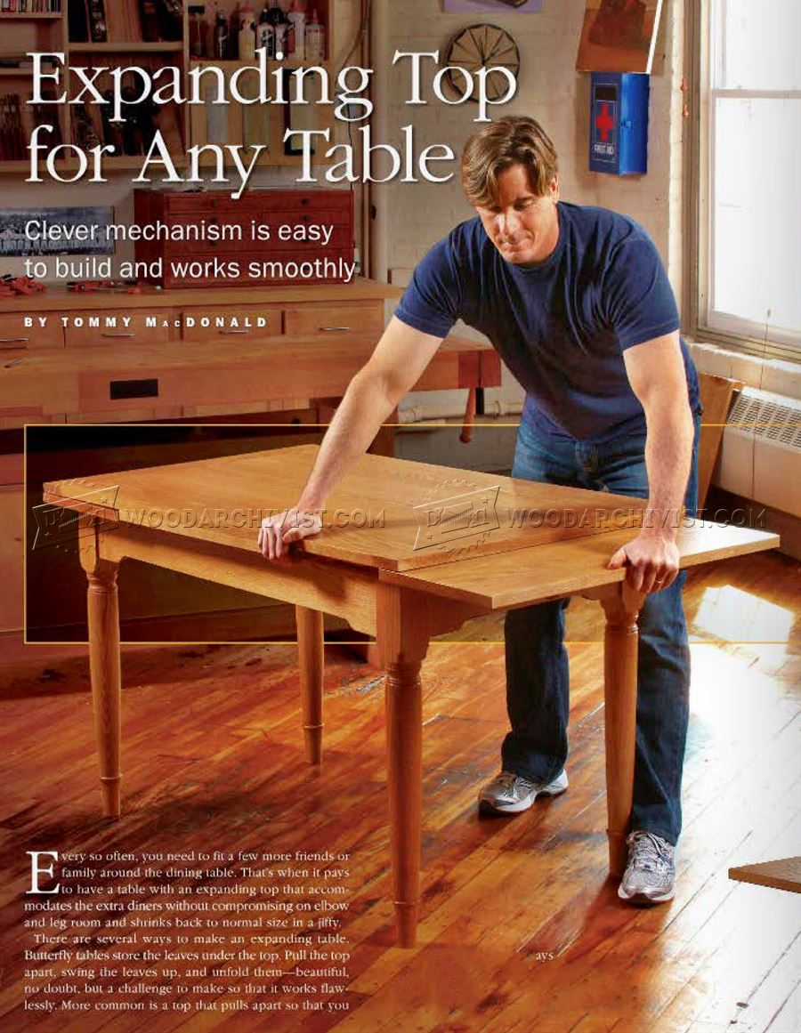 Expanding Table Plans