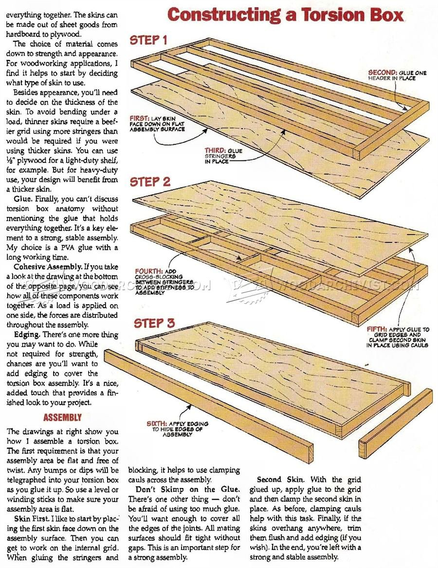 2626 Torsion Box Workbench Plans - Workshop Solutions
