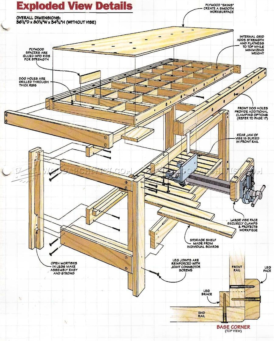 Book of woodworking assembly table plans in singapore by for Box table design