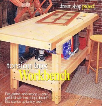 2626-Torsion Box Workbench Plans