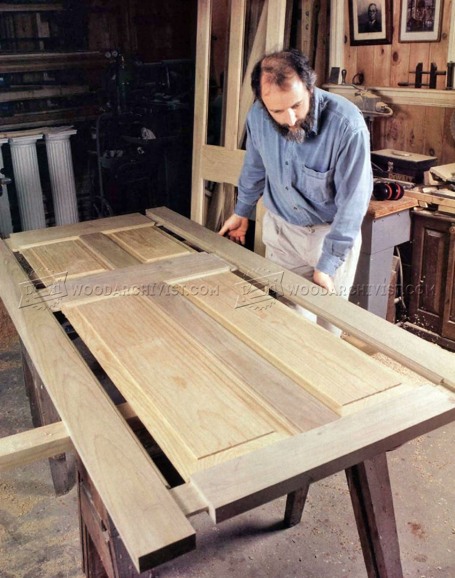 Making Wooden Doors & Making Wooden Doors \u2022 WoodArchivist Pezcame.Com