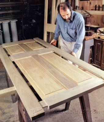 2634-Making Wooden Doors