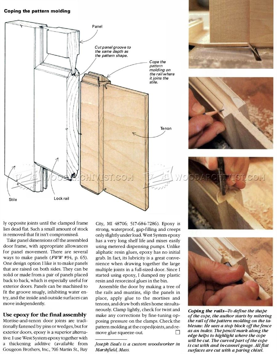 Making Wooden Doors