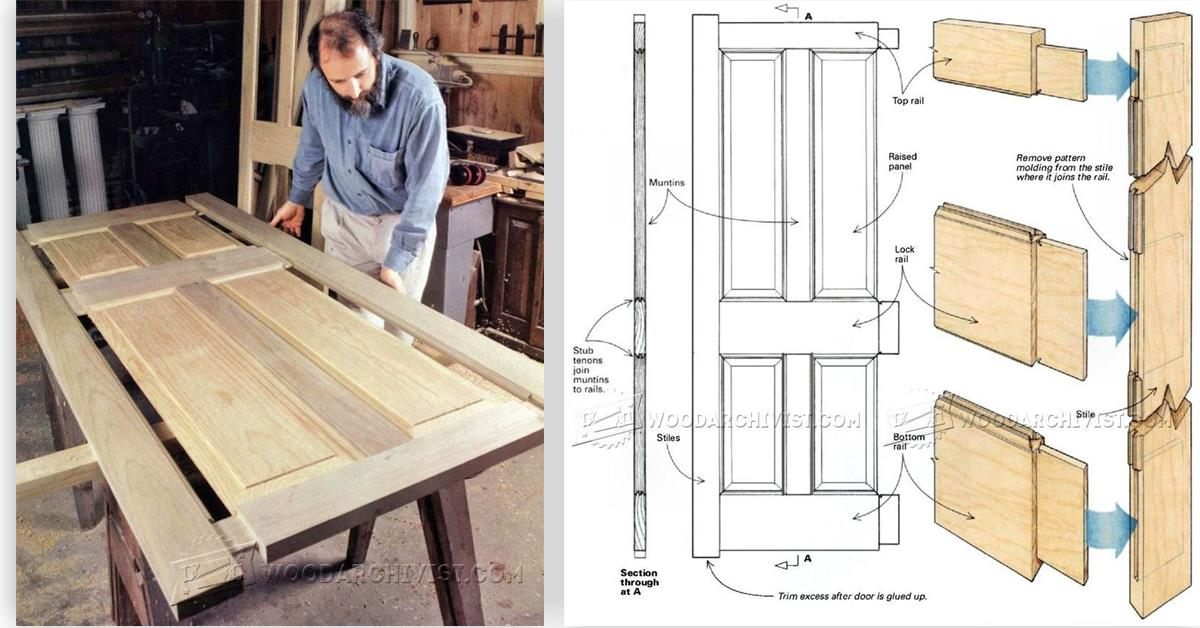 & Making Wooden Doors \u2022 WoodArchivist Pezcame.Com