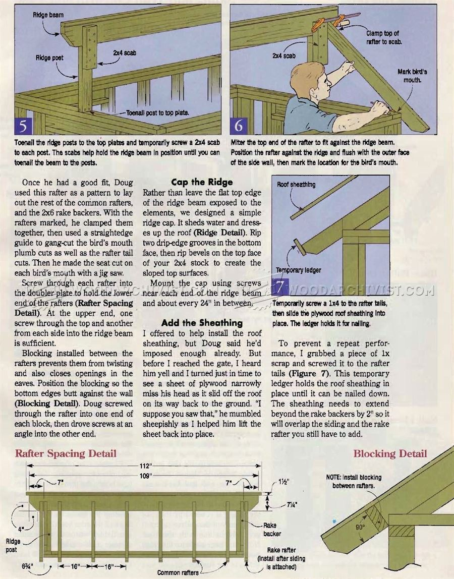 Backyard Playhouse Plans