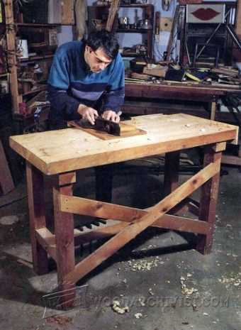 2644-Simple Workbench Plans