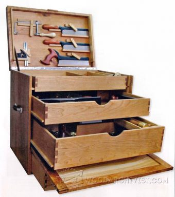 2652-Woodworking Tool Chest Plans