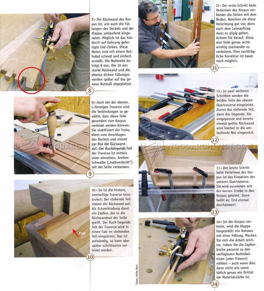 Woodworking Tool Chest Plans