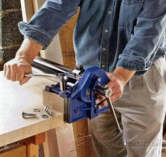 2656-Install Woodworking Vise
