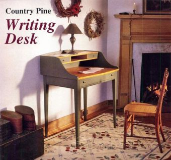 2658-Writing Desk Plans