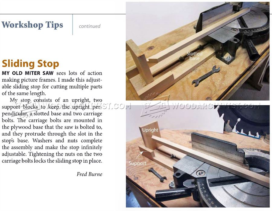 Miter Saw Stop System