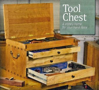 2668-Dovetailed Tool Chest Plans
