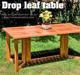 2670-Drop Leaf Dining Table Plans