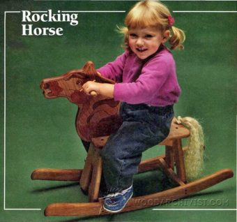 2687-Wooden Rocking Horse Plans