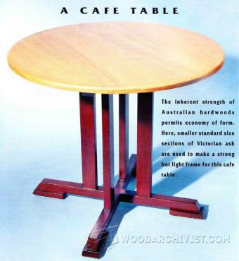 2689-Cafe Table Plans