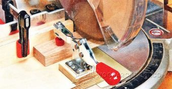 2696-Small Piece Miter Saw Jig