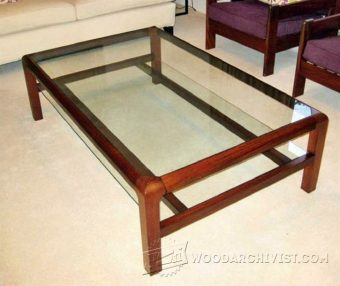 2701-Display Coffee Table Plans