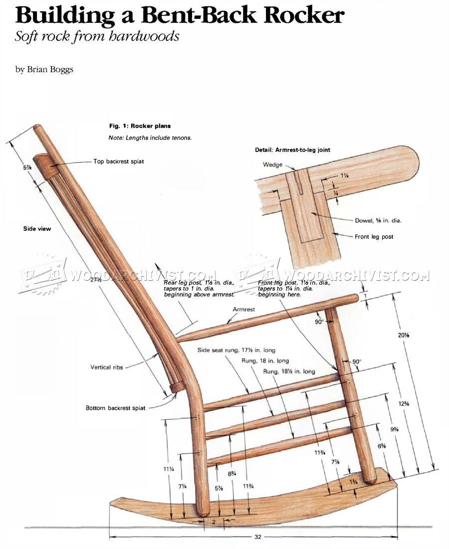Build Rocking Chair