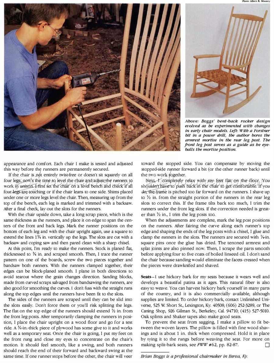 #2702 Build Rocking Chair