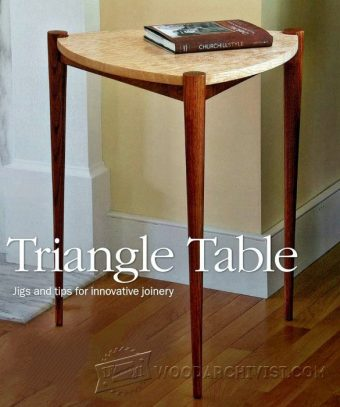 2715-Triangle Table Plans