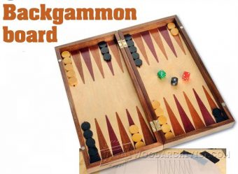 2717-Backgammon Board Plans