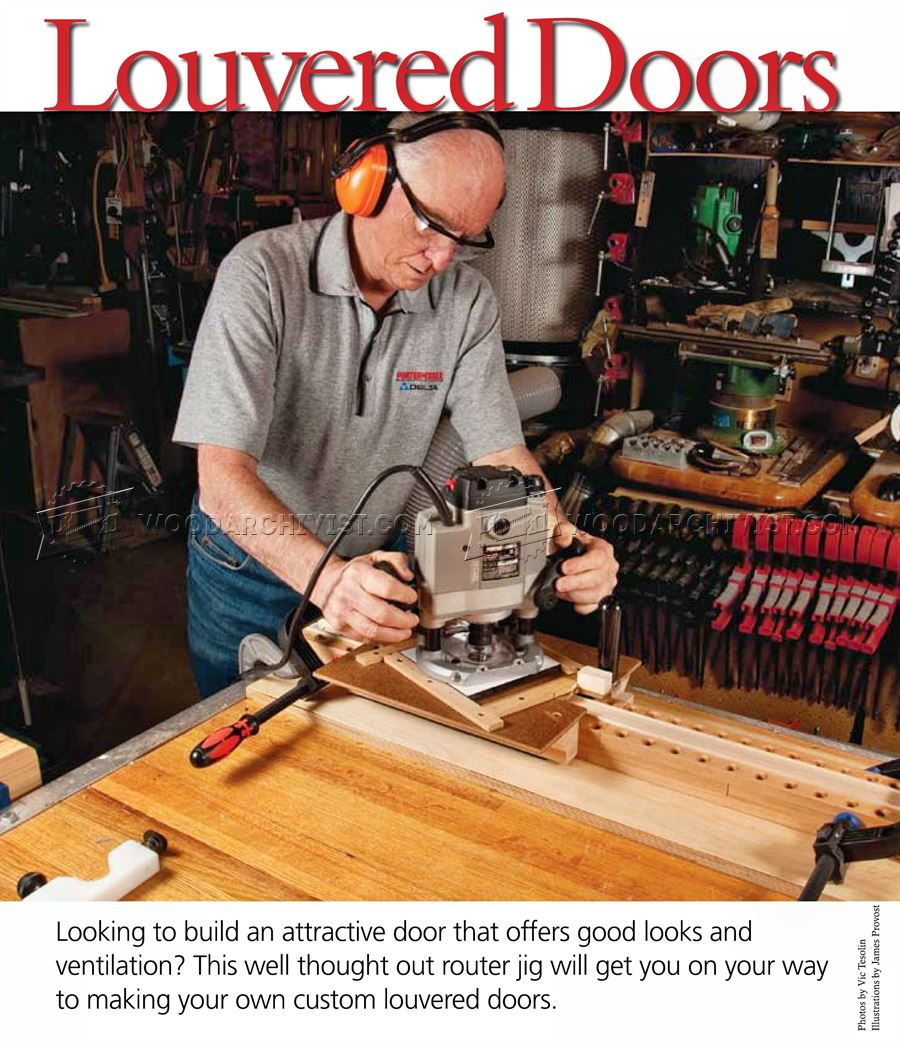 Making Louvered Doors