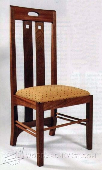 2720-Mackintosh Chair Plans