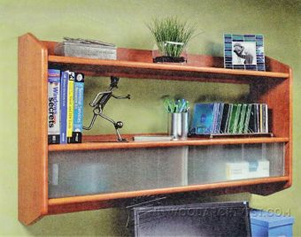 2722-Building Wall Shelf