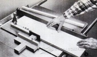 2737-Table Saw Thin Rip Guide