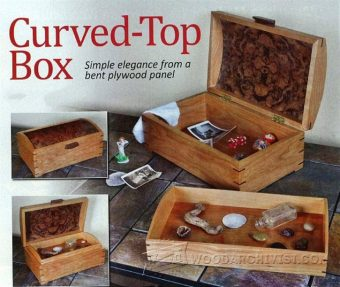 2738-Curved Top Box Plans