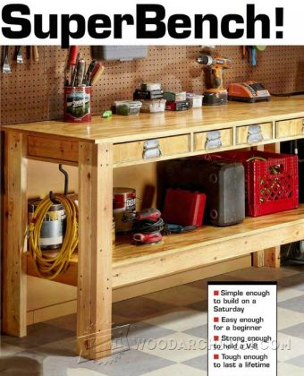 2739-Simple Workbench Plans