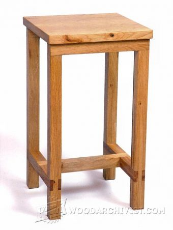2740-Bench Stool Plans