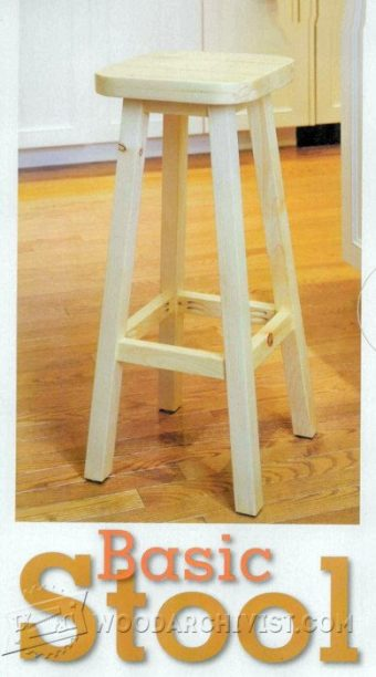 2748-Kitchen Stool Plans