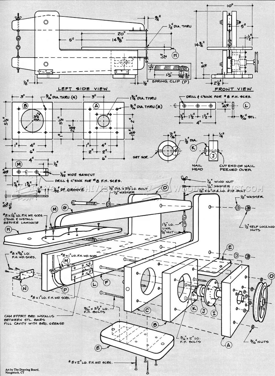HomeMade Scroll Saw Plans
