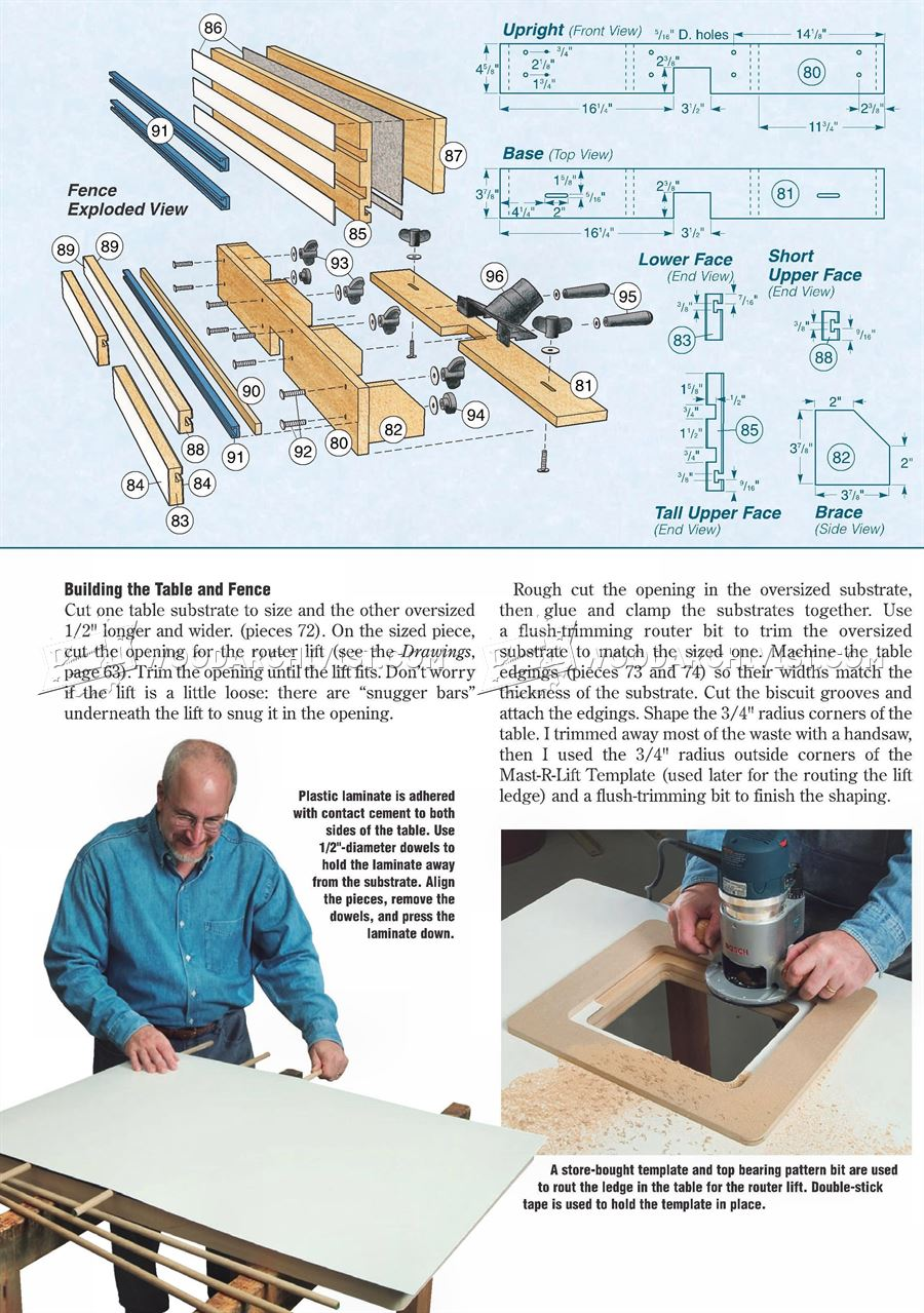 Ultimate Router Table Plans