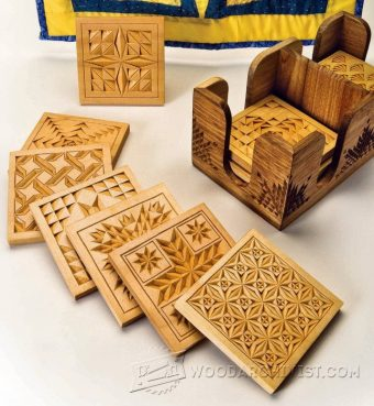 2766-Coasters - Chip Carving Patterns