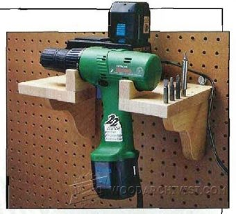 2772-Cordless Drill Charging Station Plans
