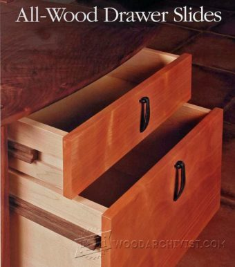 2776-DIY Wooden Drawer Slides