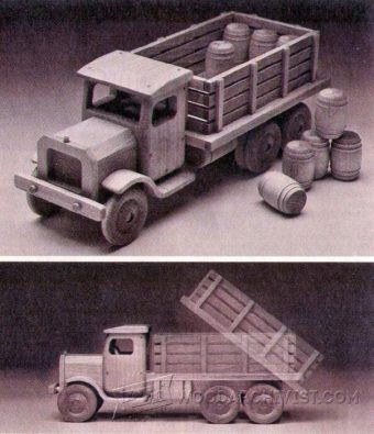 2779-Wooden Toy Truck Plans