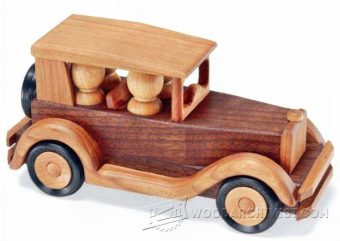 2781-Wooden Toy Car Plans