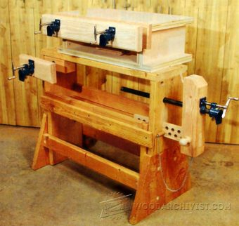 2786-DIY Pipe Clamp Vise