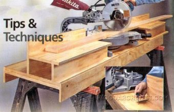 2792-DIY Portable Miter Saw Stand