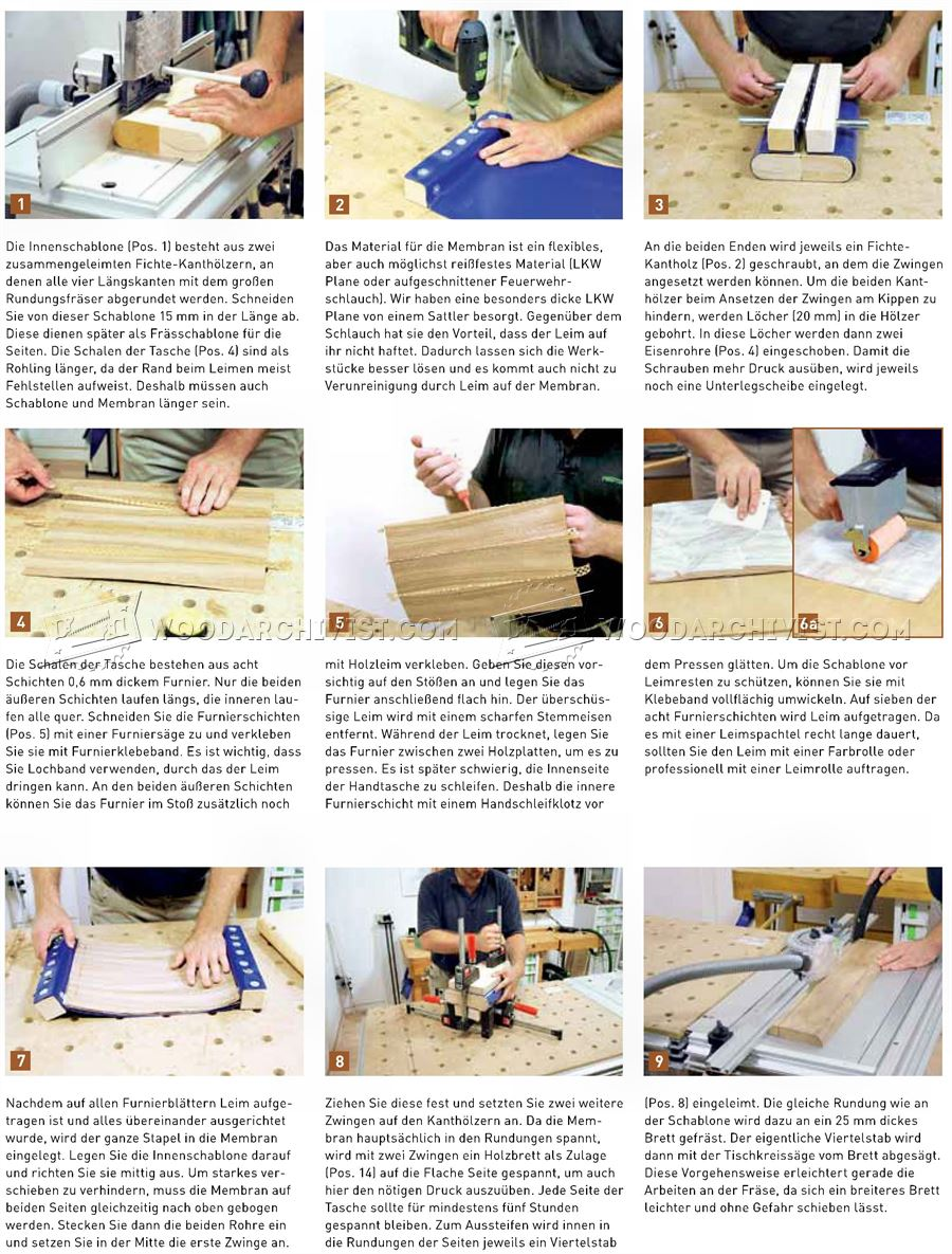 Making Wooden Handbag