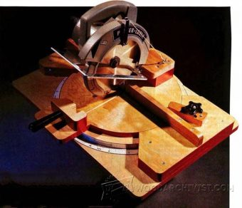 2800-Homemade Miter Saw