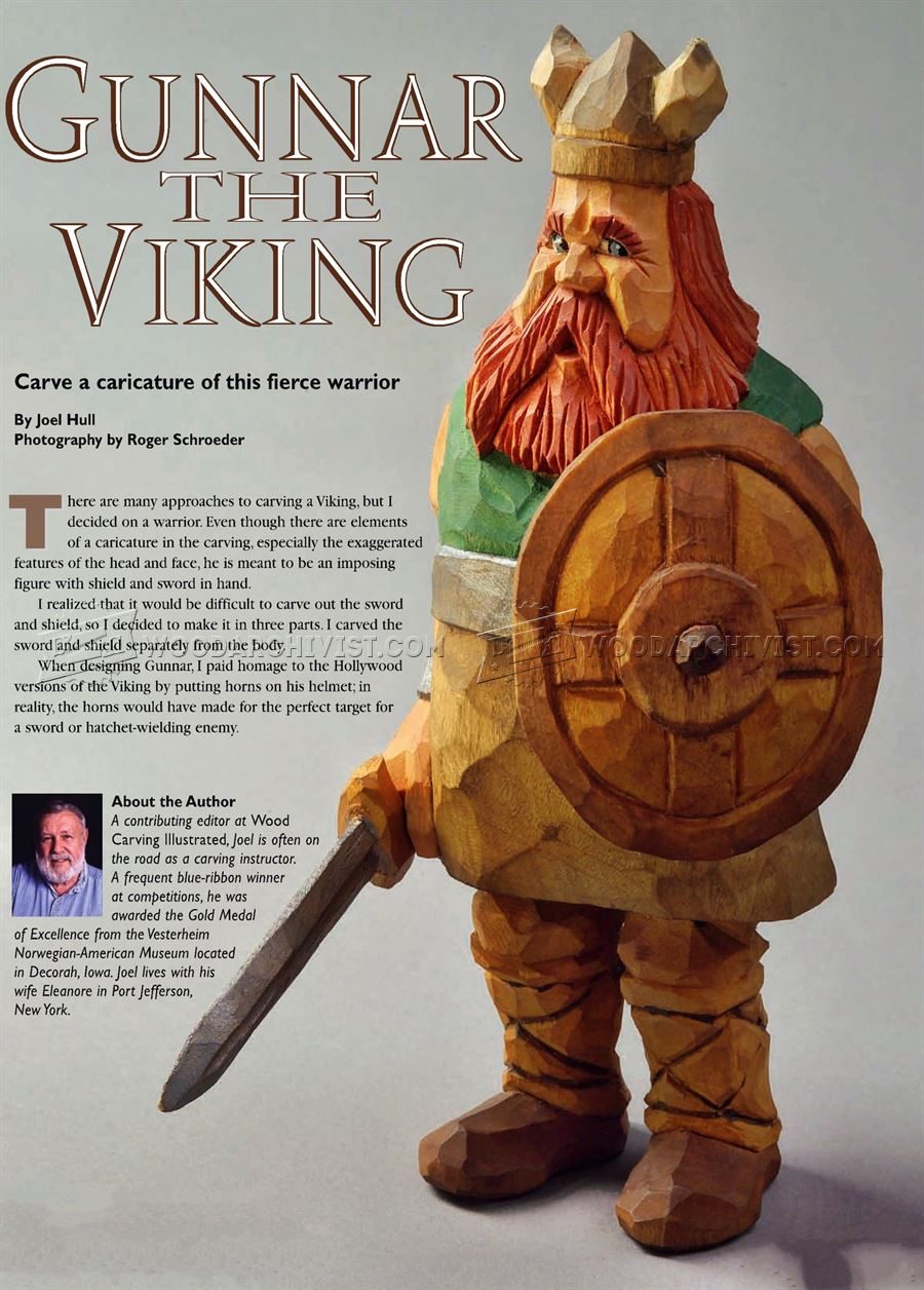 Viking - Carving Caricature