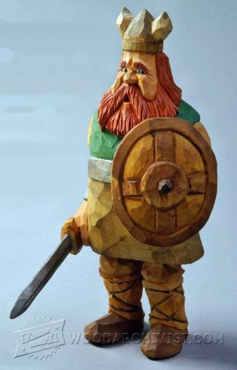 2804-Viking - Carving Caricature