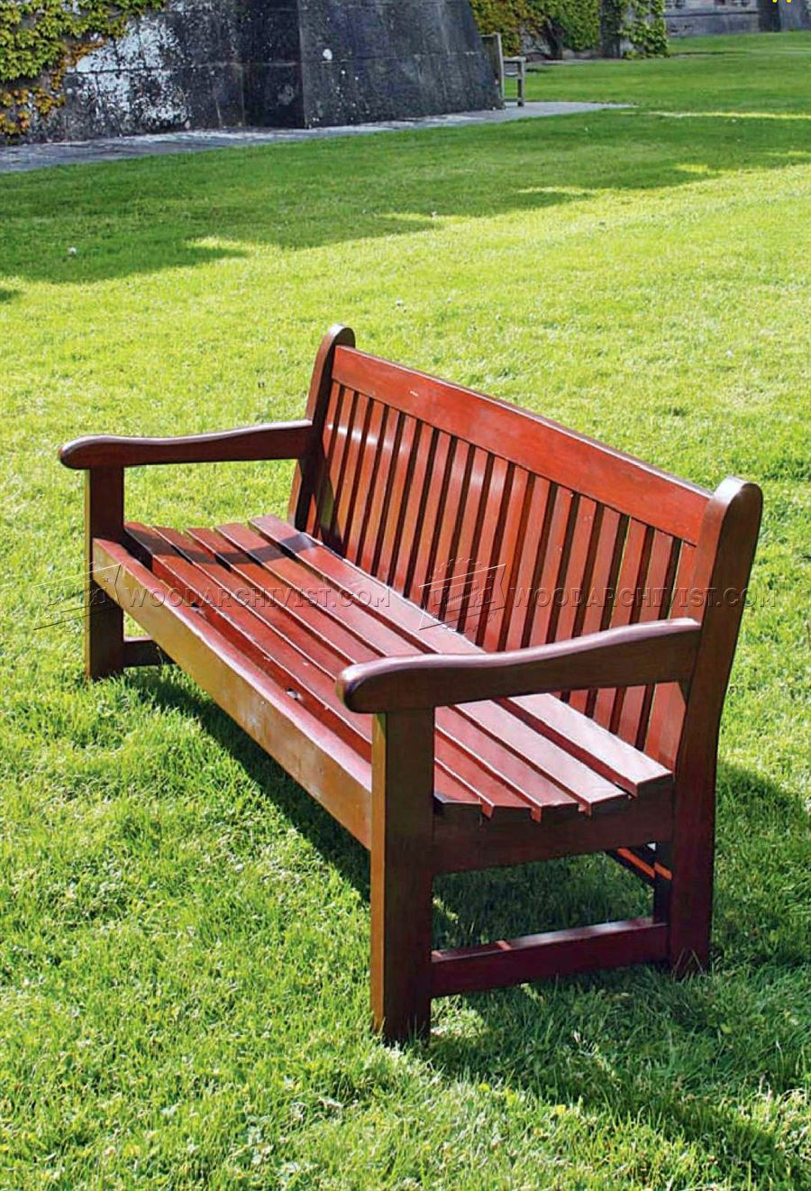 Wooden Bench Designs ~ Garden bench plans woodarchivist