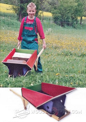 2809-DIY Childrens Garden Cart