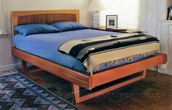 2813-Sled Bed Plans